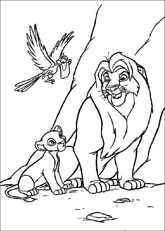 valentine coloring pages lion - photo #16