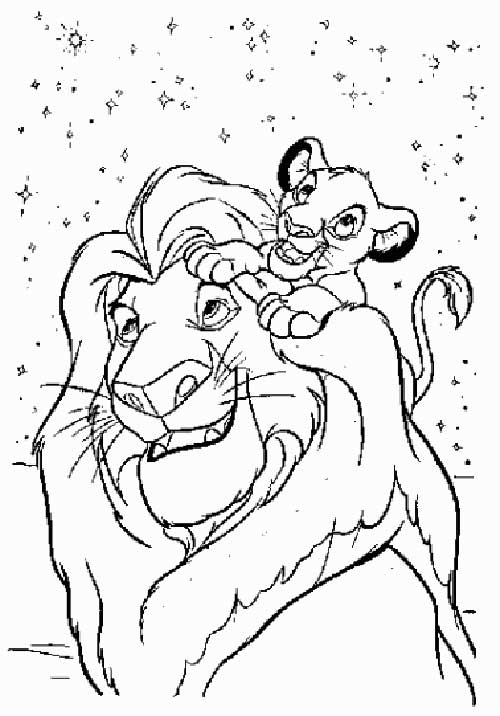 valentine coloring pages lion - photo #39