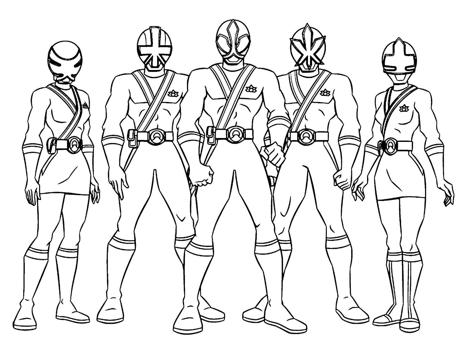 Power Rangers Coloring Pages Odd