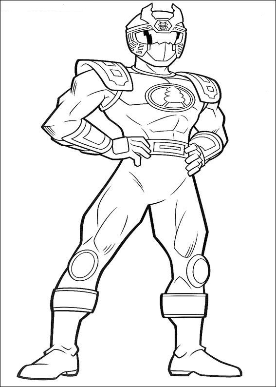 Kids N Fun Com 111 Coloring Pages Of Power Rangers Coloring