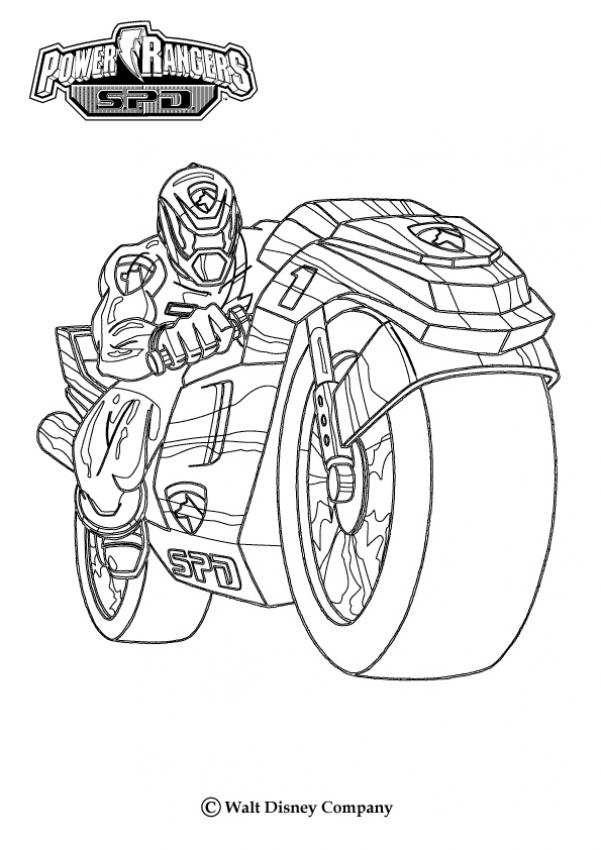 Power Rangers Coloring Pages 2019