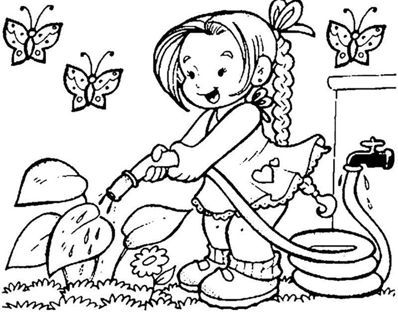 spring coloring pages 2018 dr odd - Spring Coloring Pages Free 2