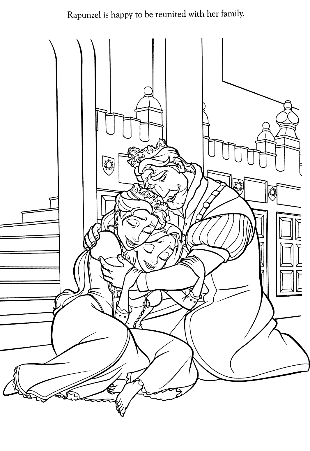 Tangled Coloring Pages 2018 Dr Odd