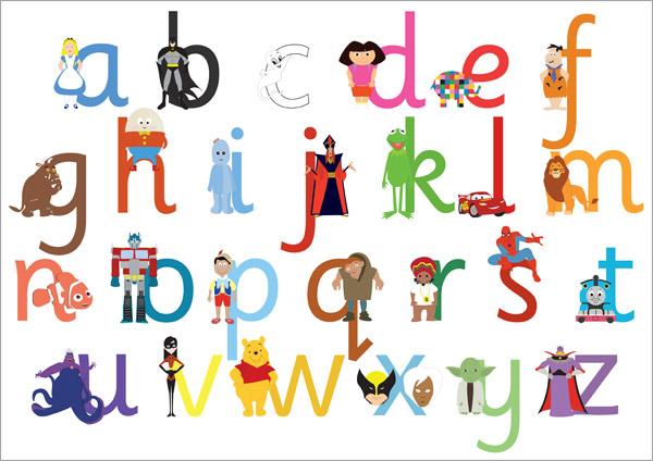 Alphabet Dr Odd