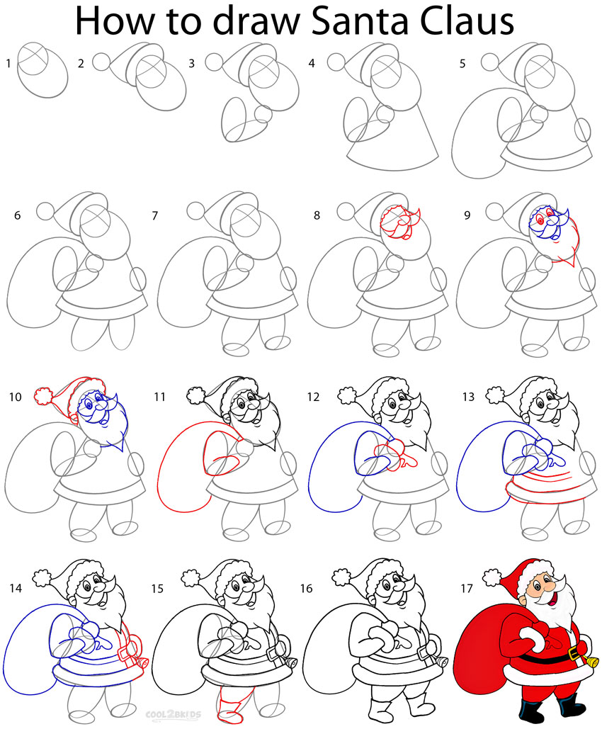 How To Draw Santa Dr Odd