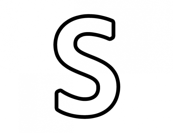 S on Letter F Crafts