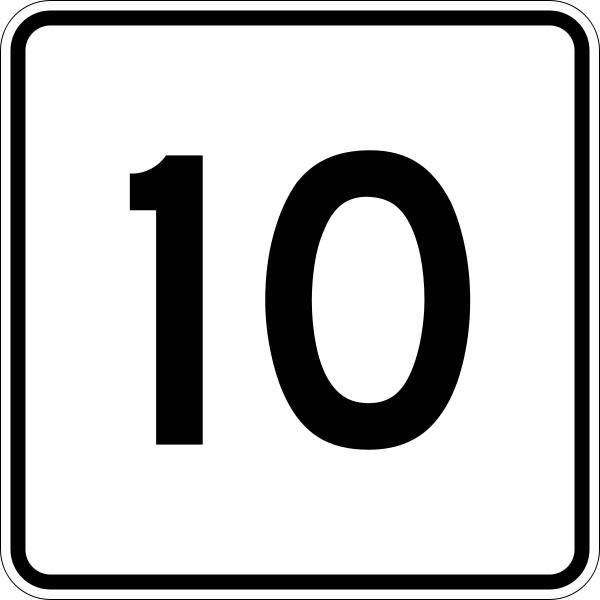 Here Are More Number 10s