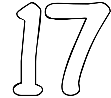 The number 17 is a highly spiritual number and has been expressed by ...