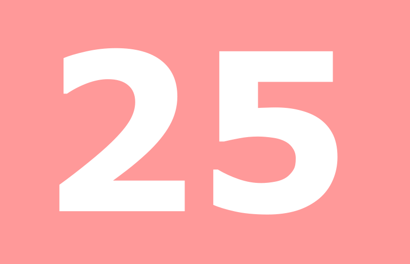 25@counts