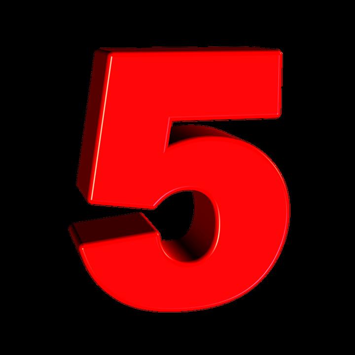 「5」の画像検索結果