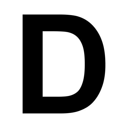 D S Letters Letter D - Dr. Odd