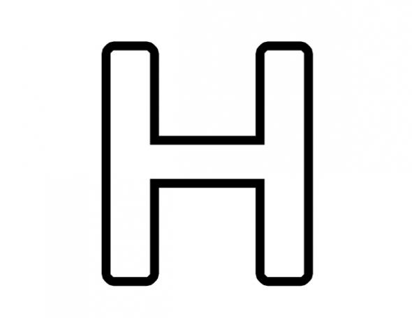 Letter H - Dr. Odd
