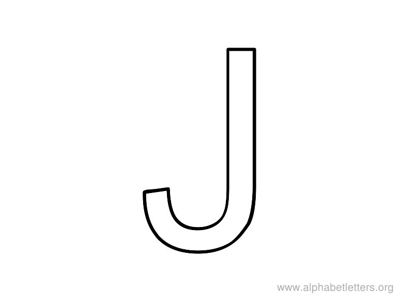 Letter J on Preschool Love
