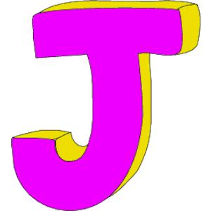 cool letter j clipart letter j   dr odd