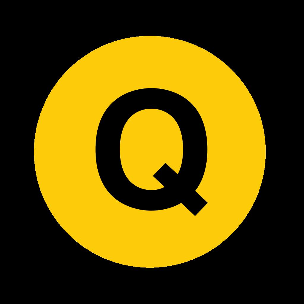 Letter Q on Letter K Crafts