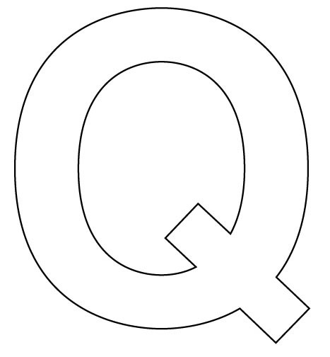 Letter Q on Letter U Worksheets For Preschoolers