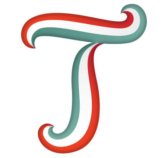 Letter T on Letter F Crafts