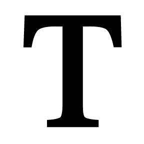 Image result for letter T