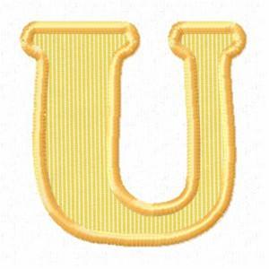 u alphabet design - photo #14
