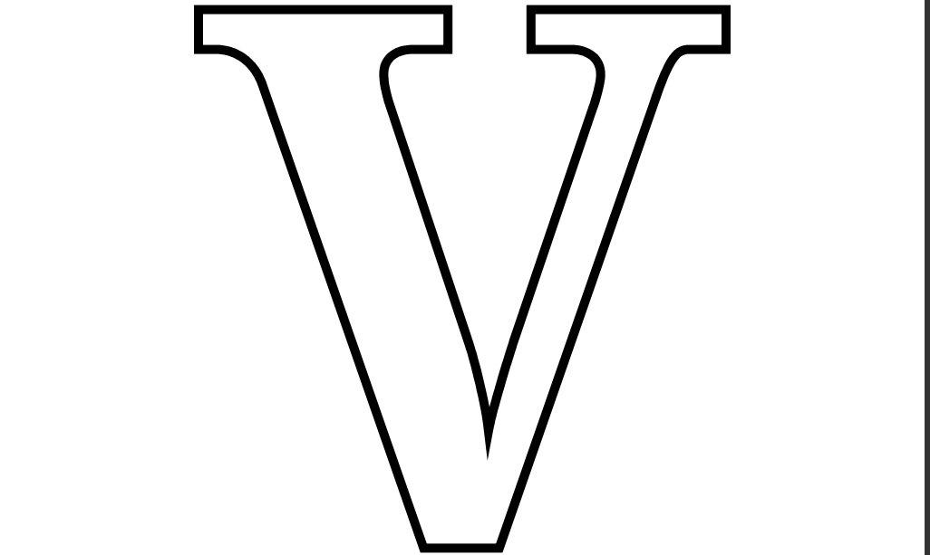 Letter V - Dr. Odd