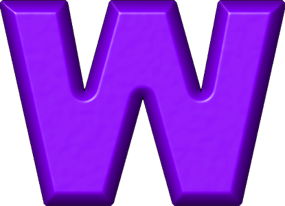 Letter W Best Cool Funny