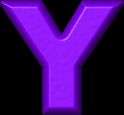 Blue Alphabet Clipart Letters