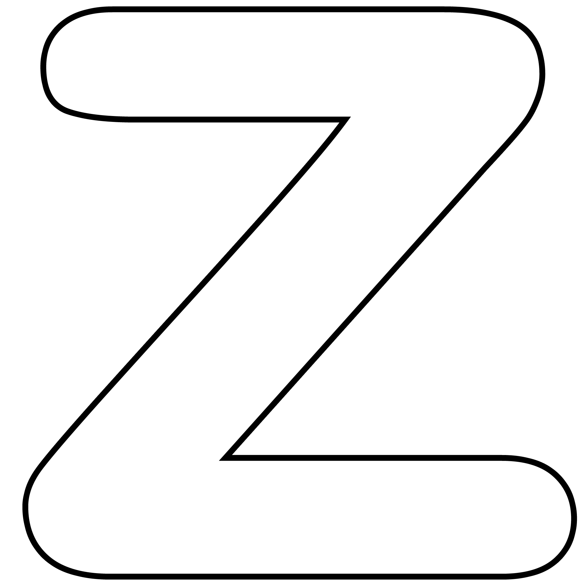 Free printable templates for Letter Z alphabet crafts suitable for ...