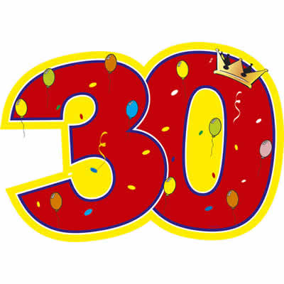 30 on Clipart Numbers 1 To 10