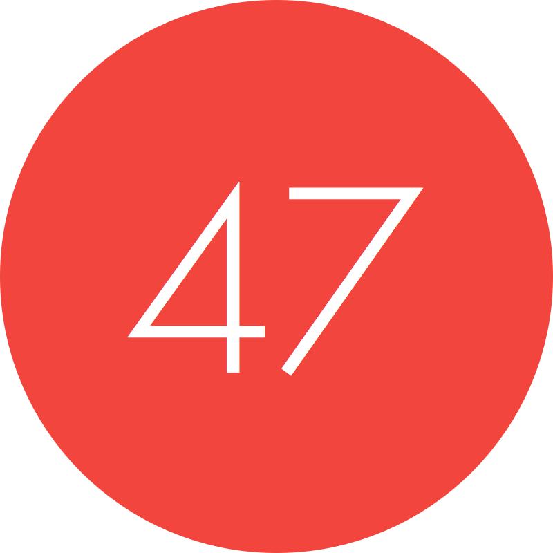 47 >> 47 Dr Odd
