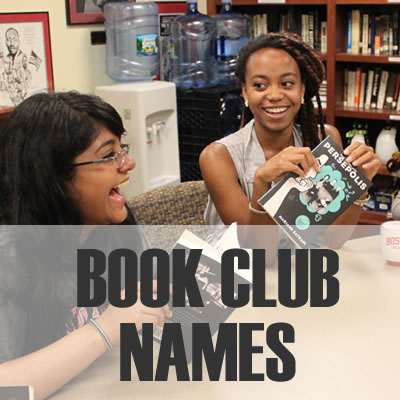 Book Club Names - 2019: Best, Cool, Funny
