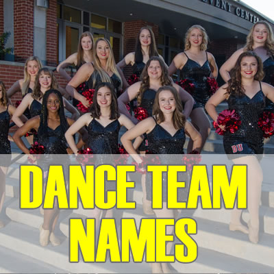 Dance Team Names 2019: Best, Cool, Funny