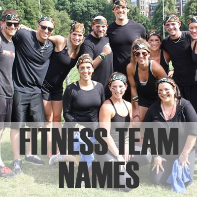 Fitness Team Names - Dr  Odd