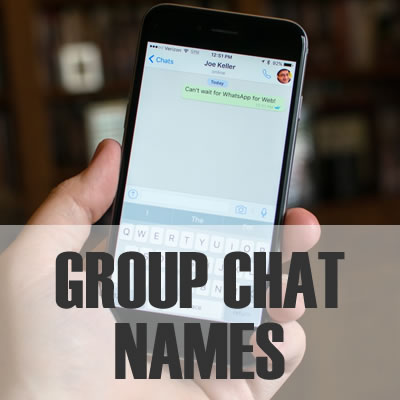 Group Chat Names - 2019: Best, Cool, Funny