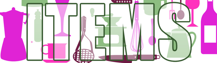 Household Items List
