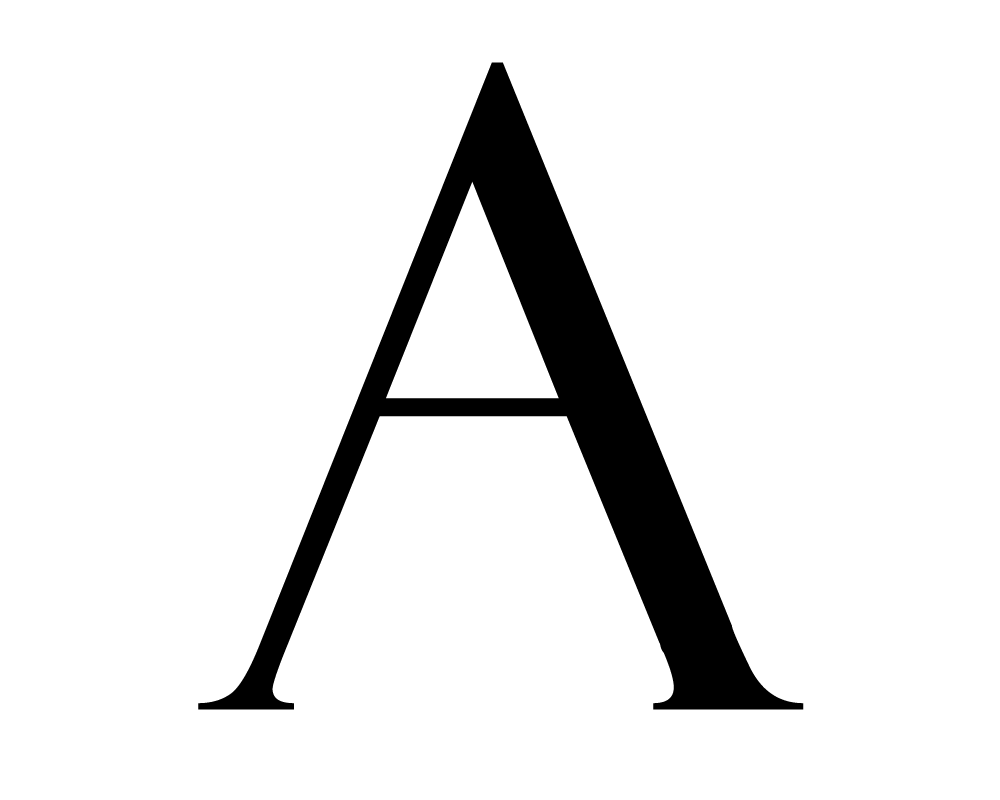 Image result for letter a