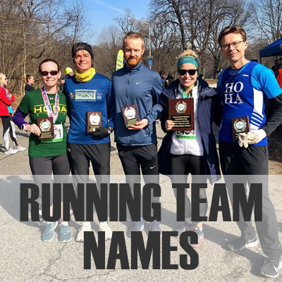Running Team Names 2019: Best, Cool, Funny