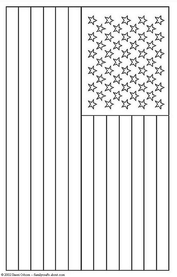 American flag coloring pages 2017 Dr Odd