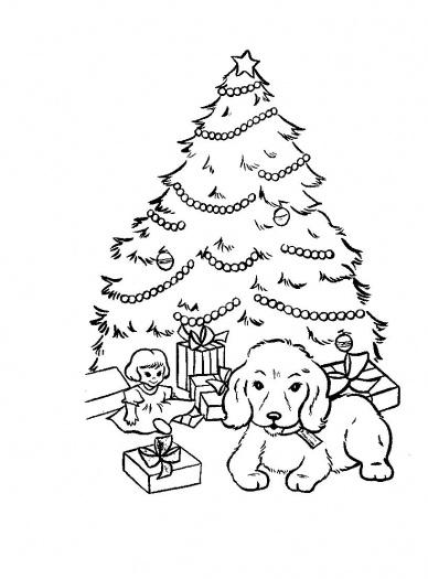 kids coloring pages color pages color pages 2 cute coloring pages cute coloring pages 2 cool coloring pages printable coloring pages - Christmas Tree Printable Coloring Page 2