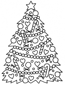 Christmas Coloring Sheets - 2012