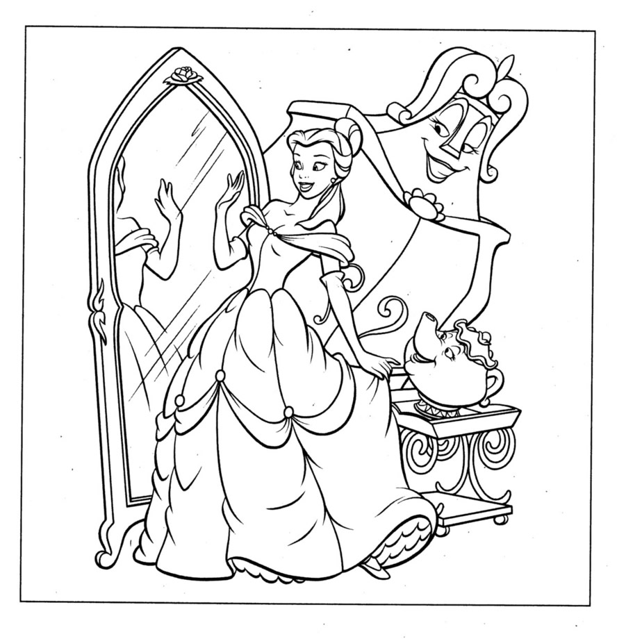 coloring pages disney30