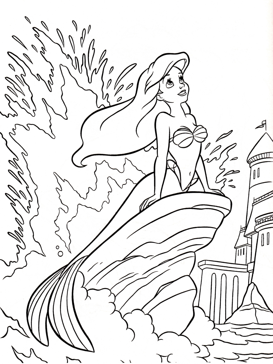 Coloring pages of spring things - Spring Things Coloring Page