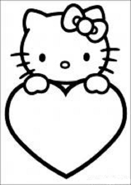 Coloring Pages Hello Kitty - Dr. Odd