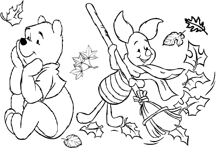 coloring pages for fall - photo#8
