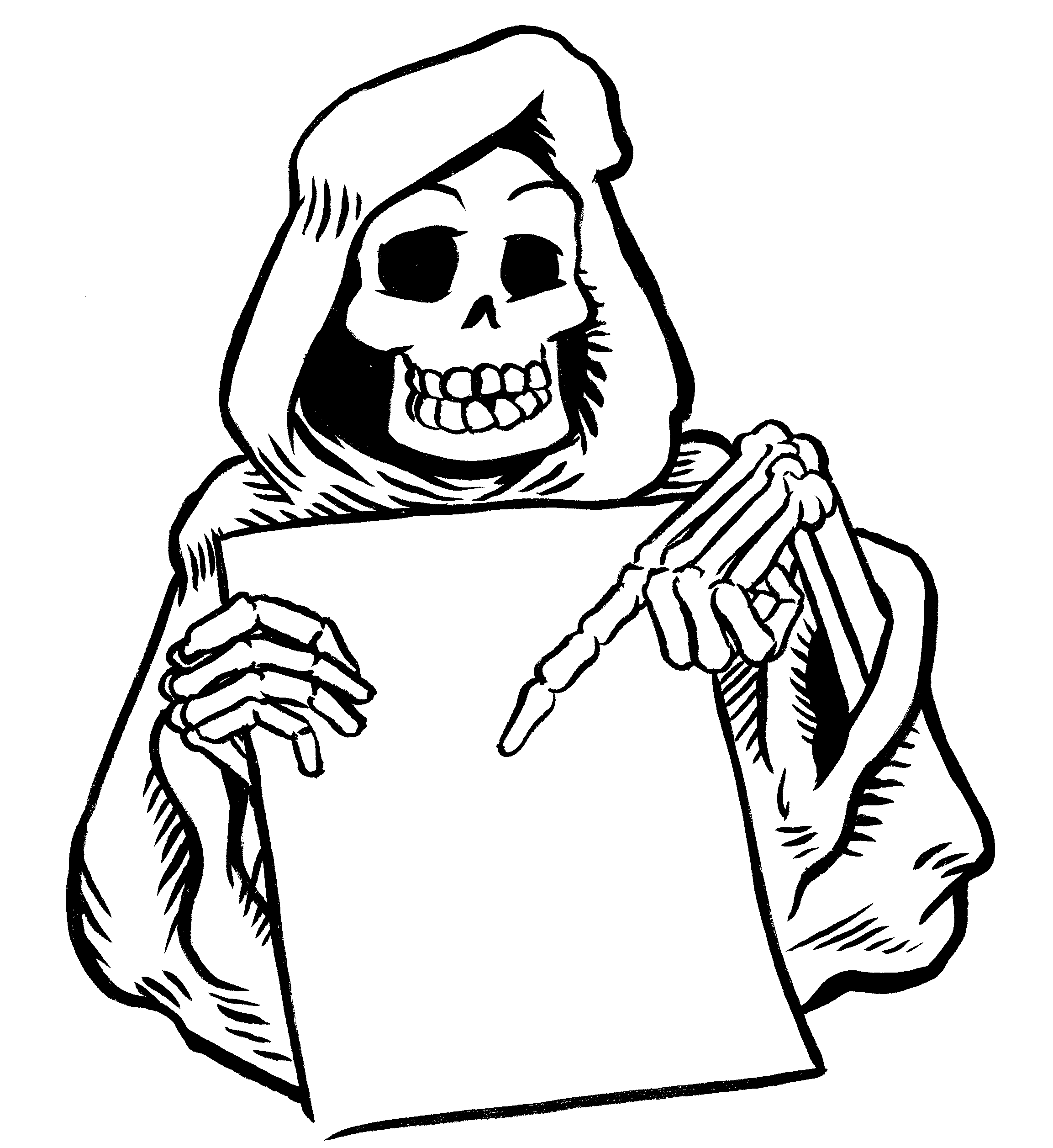 Halloween Coloring Pages - Dr. Odd