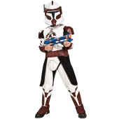 Star Wars Clone Wars Deluxe Commander Fox Child Costume