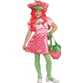 Strawberry Shortcake - Strawberry Shortcake Deluxe Toddler / Child Costume