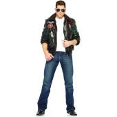 Top Gun Bomber Jacket Adult Costume (Male)