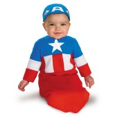 Captain America Bunting Infant Costume
