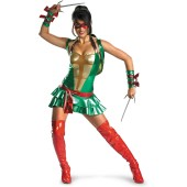 TMNT - Sexy Raphael (Red) Deluxe Adult Costume