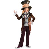 Alice in Wonderland Movie - Mad Hatter Child Costume